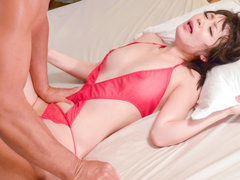 Nao Mizuki leaves hunk to delight with her pussy