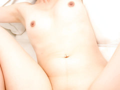 Slutty Asian chick Izumi Manaka bonked in her small hairy pussy
